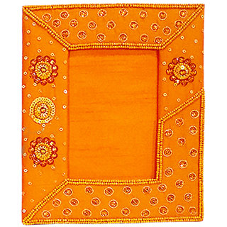 Danii Hand Embroidered  Sequined Decorative Fabric Photo Frame