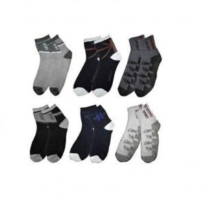 KD Sales Pack of 6 Multicolor Socks
