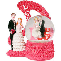Valentine Romantic Love Couple Statue - With LED Lights
