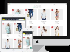 Custom E-commerce Shopping Website