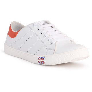 CF Better Deals Mens White Casual Shoes