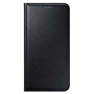 Samsung galaxy j7 Leather flip cover (Black)