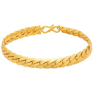 Dare by Voylla Gold Plated Mens Bracelet