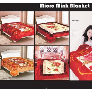 Super Soft Mink Double Bed Blanket /Quilt 220cm x 240cm