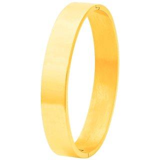 Dare by Voylla Stainless Steel Men's Cuff Bracelet From