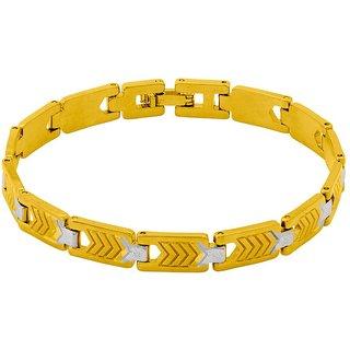 Dare by Voylla  Men's Linked Bracelet