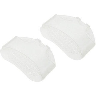 1 Pair /2pcs Silicone Toe Pads Gel Forefoot Pad Feet Care High heels footPad Half Insole Foot Care Sore Feet Pain