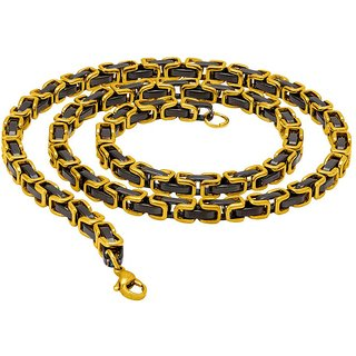 Dare by Voylla Striking Dual Plating Designer Link Chain