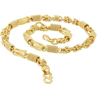 0f0e4be75db64 Buy Dare by Voylla Designer Link Chain with Gold Plating Online ...