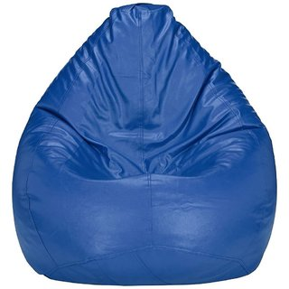Home Berry L Blue Bean Bag Cover (Without Beans)