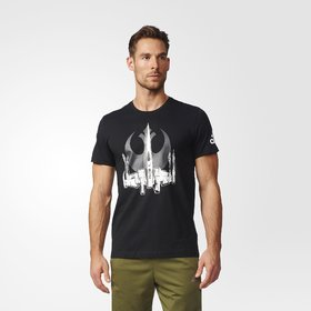 ADIADS  GRAPHIC T-Shirt Black For Men