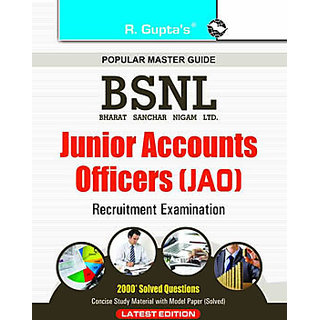BSNL Junior Accounts Officers (JAO) Examination Guide