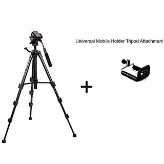 Simpex VCT 690 RM Tripod with Universal Mobile Holder