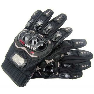 PRO BIKER Gloves for Bike/Motorcycle/Cycle Riding Gloves Biker Gloves - XL