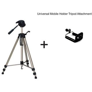 Simpex 3600 Tripods (Load Capacity 3000 g) With Mobile Holder