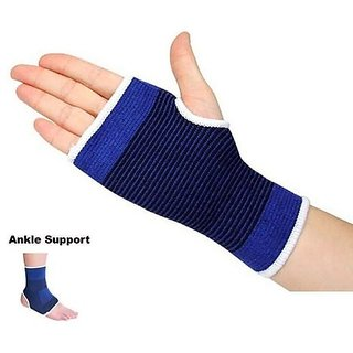 kudos Combo of Palm Ankle Support(High Quality)