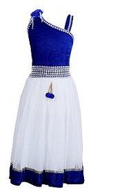 Qeboo Blue Beautiful Party Wear Girls Dress