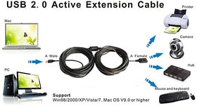 10mtr Active Extension Usb Cable