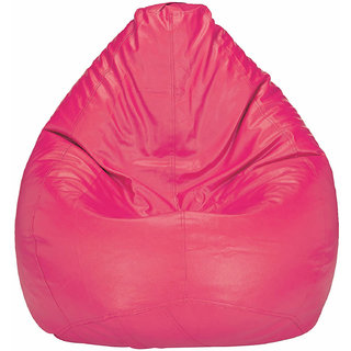 Home Berry XL Pink Bean Bag (Without Beans)