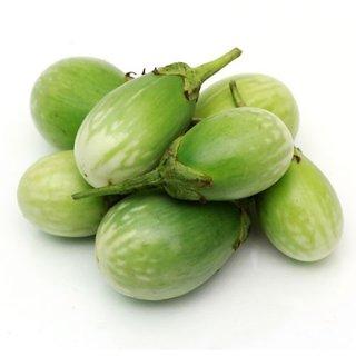 Green ChuChu Brinjal M Vegetables Seeds