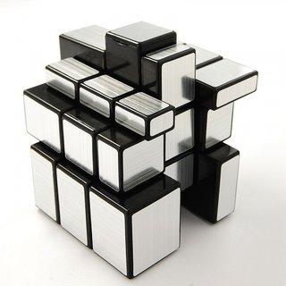 Magic Mirror Cube Silver