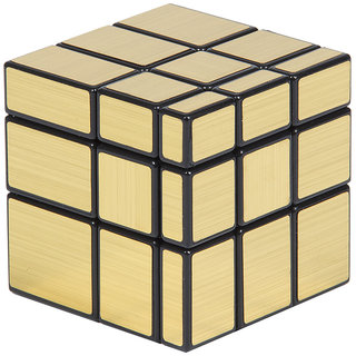 Adichai 3 X 3 Gold Mirror Speed Magic Cube (1 Pieces)