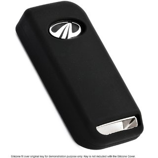 Standard Quality Silicone Cover For Mahindra XUV 500 (Black)