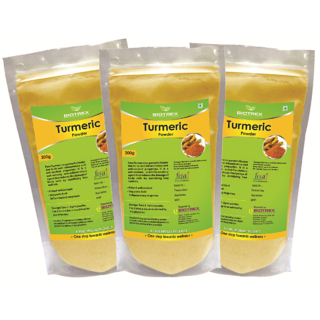 Biotrex Turmeric Powder - Potent Anti-oxidant200g Pack Of 3