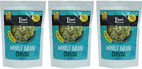 Whole Grain Ancient Chivda ( Plain Salted) Pack Of 3