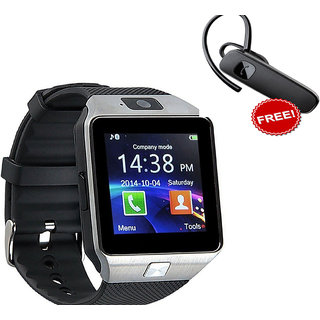 Bluetooth Smart Watch Phone With Camera, TF Card and Sim Support + Handfree Buy