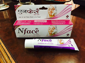 Nface Skin Fairness Cream Removing Scars  Marks 15 gm