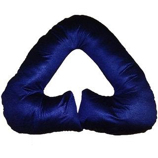 Comfort Pillows Navy Triangle Shape Pregnancy Pillow