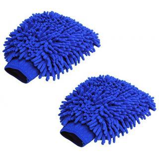 Mycar Microfiber Vehicle Washing Hand Glove (Pack Of 2)