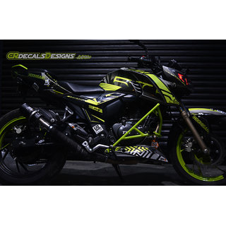 CR Decals APACHE RTR 200 4v Custom Decals/Stickers HONIGAN Edition Kit