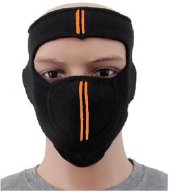 OMCY Imported Bike Face Mask ( Black , 1 Pc )
