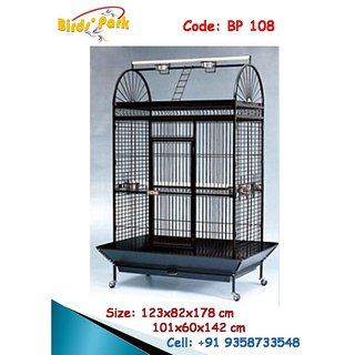 Macaw Cage imported Good for Macaw Cockatoo Grey Parrot Eclectus BP 108