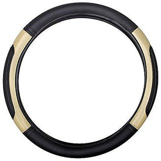 OMCY Imported Car BB Leatherette Grip S Steering Cover ALTO, 800, ALTO K10, XING,Kwid