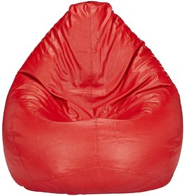 Home Berry XXL Red Bean Bag (without Beans)