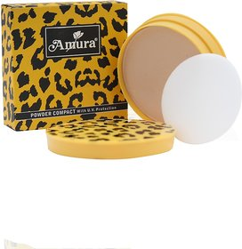 AMURA, Compact Powder with UV Protection, 12 GRM