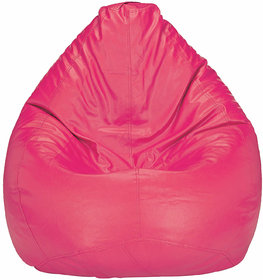 Home Berry XXL Pink  Bean Bag (without Beans)