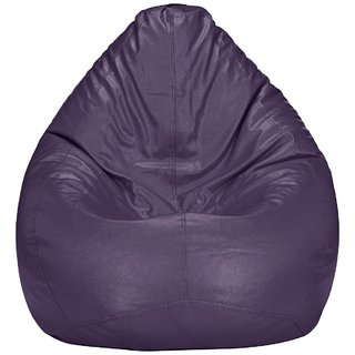 Home Berry XXL Purple Bean Bag (without Beans)