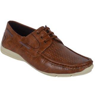 Aadi Men's Tan Lace-up Sneakers