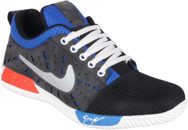 Buy Aadi Black Grey Casual Shoes Online