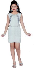 Saarah White Dress for girls