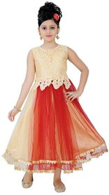 Saarah Multicoloured Dress For Girls