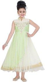Saarah Green Dress for girls