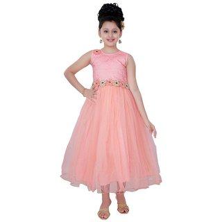 Saarah Peach Gown for girls
