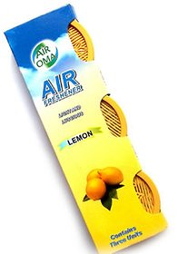 Lucky Traders Air Oma Lemon Car Perfume Set Of 3 Pieces