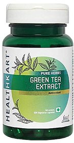 HealthKart Green Tea Extract With Catechins, Polyphenol