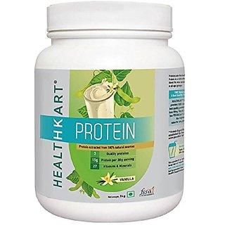 HealthKart 50% Protein with Whey & Casein, 1kg, Vanilla